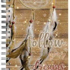 caderno filtro dos sonhos