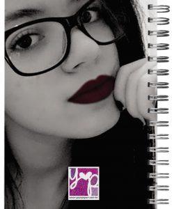 caderno personalizado com foro