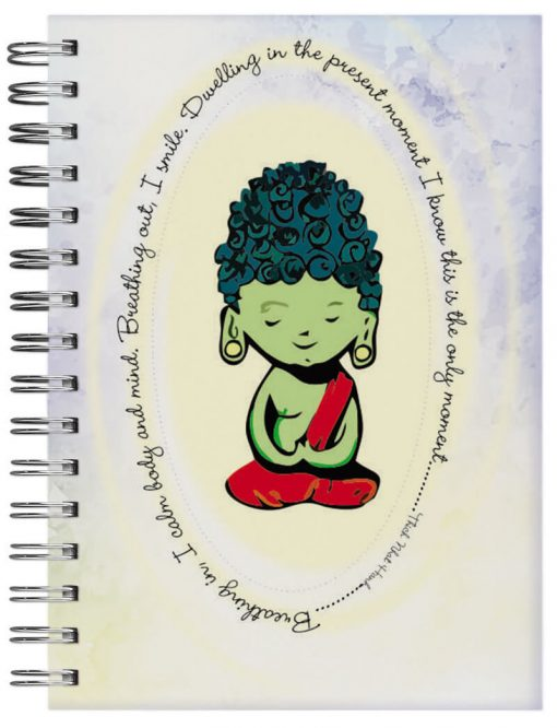 caderno personalizado buda