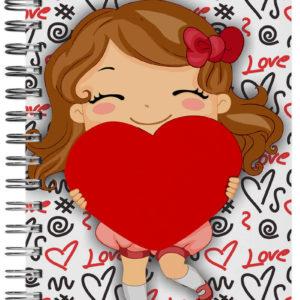caderno personalizado cute