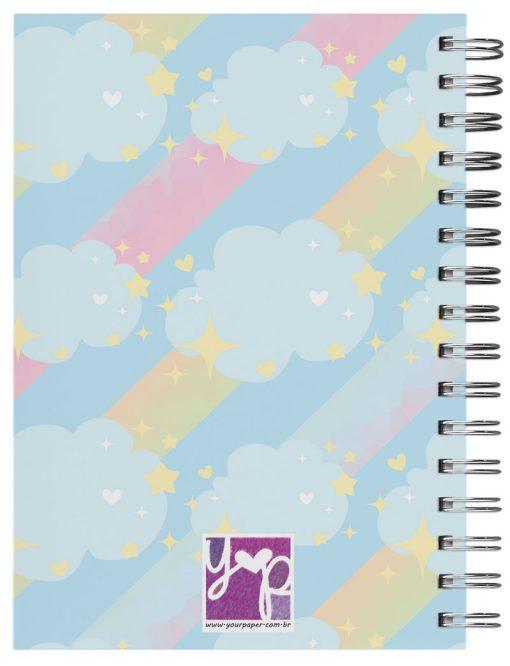 caderno personalizado unicornio