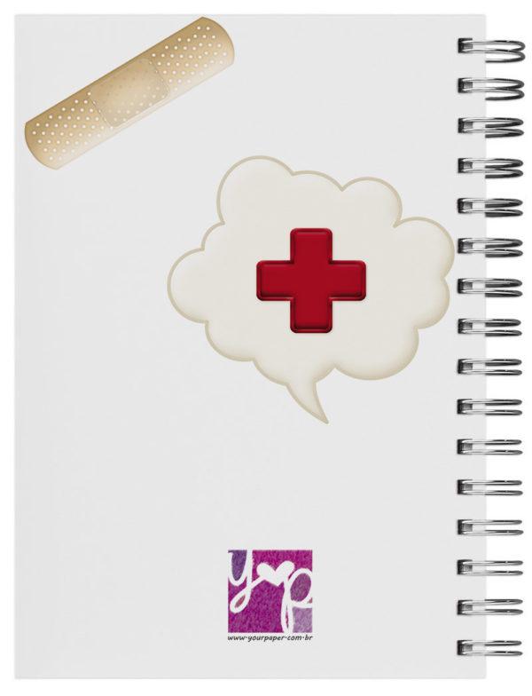 caderno personalizado pediatra