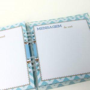ideia para registrar lembranças dos filhos