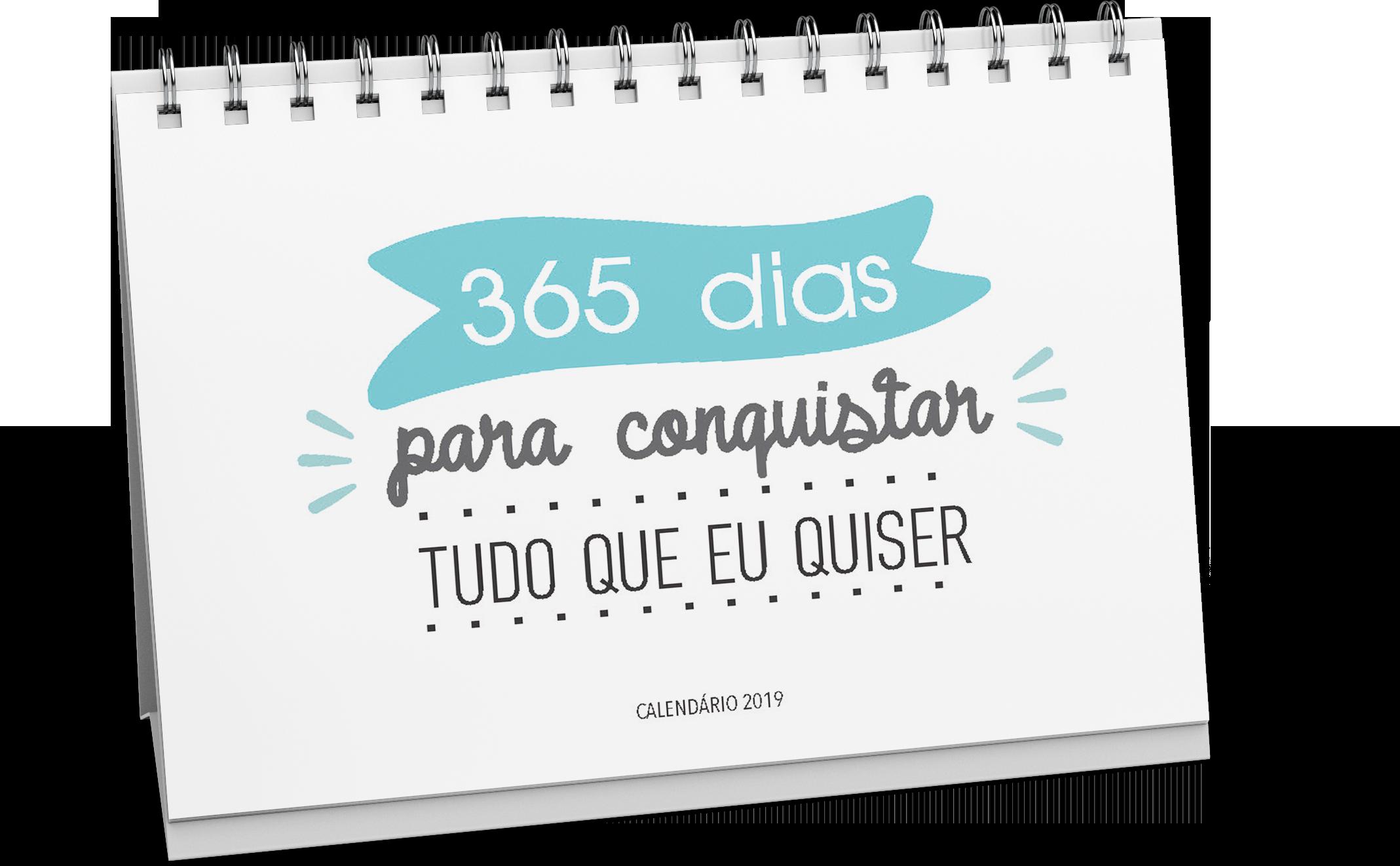 Miolo Digital Para Calendário De Mesa 2020 Frases